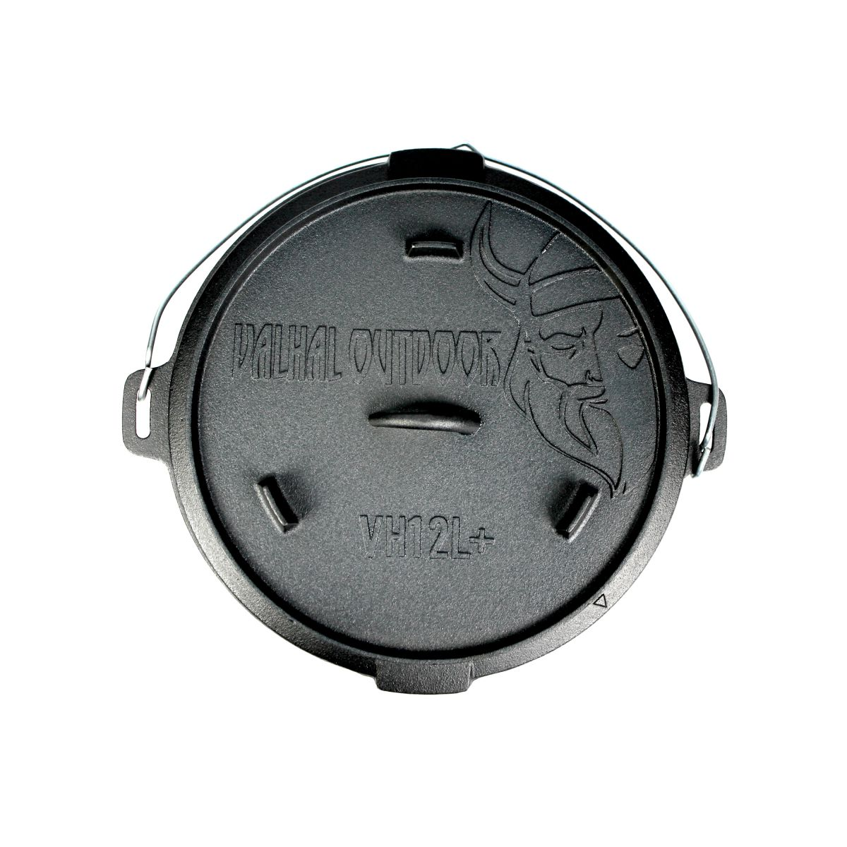 vh12l dutch oven 12l with feet