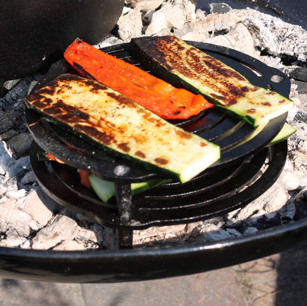 vh23g stackable grill 23cm