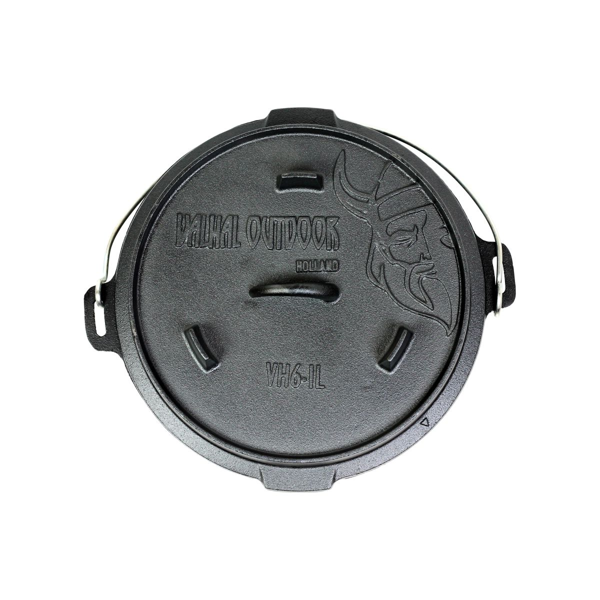 vh61l dutch oven 61l with feet