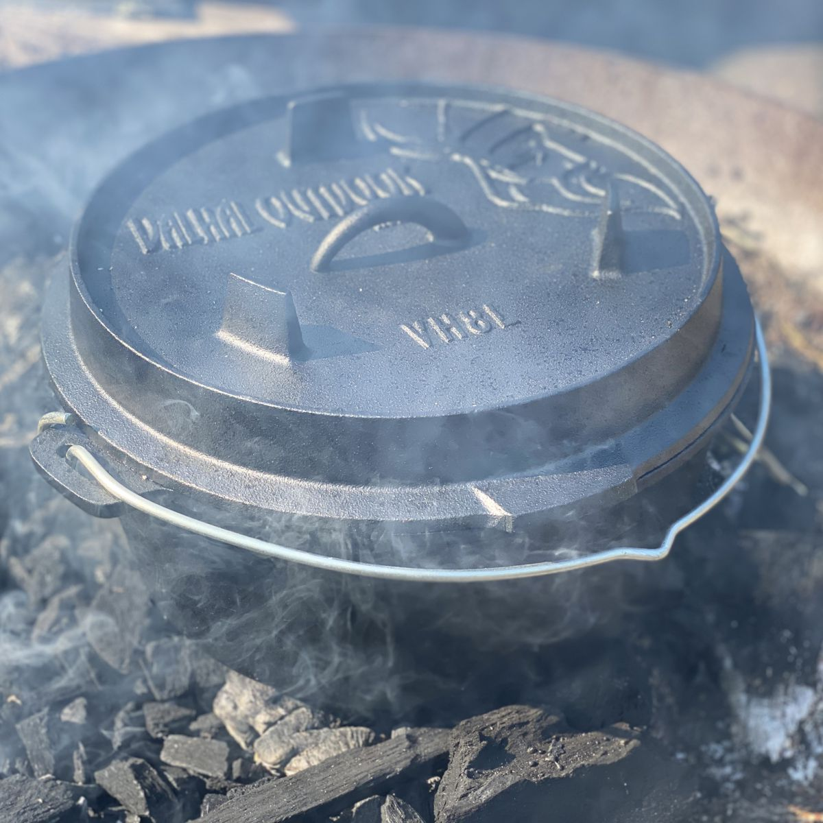 vh8l dutch oven 8l with feet