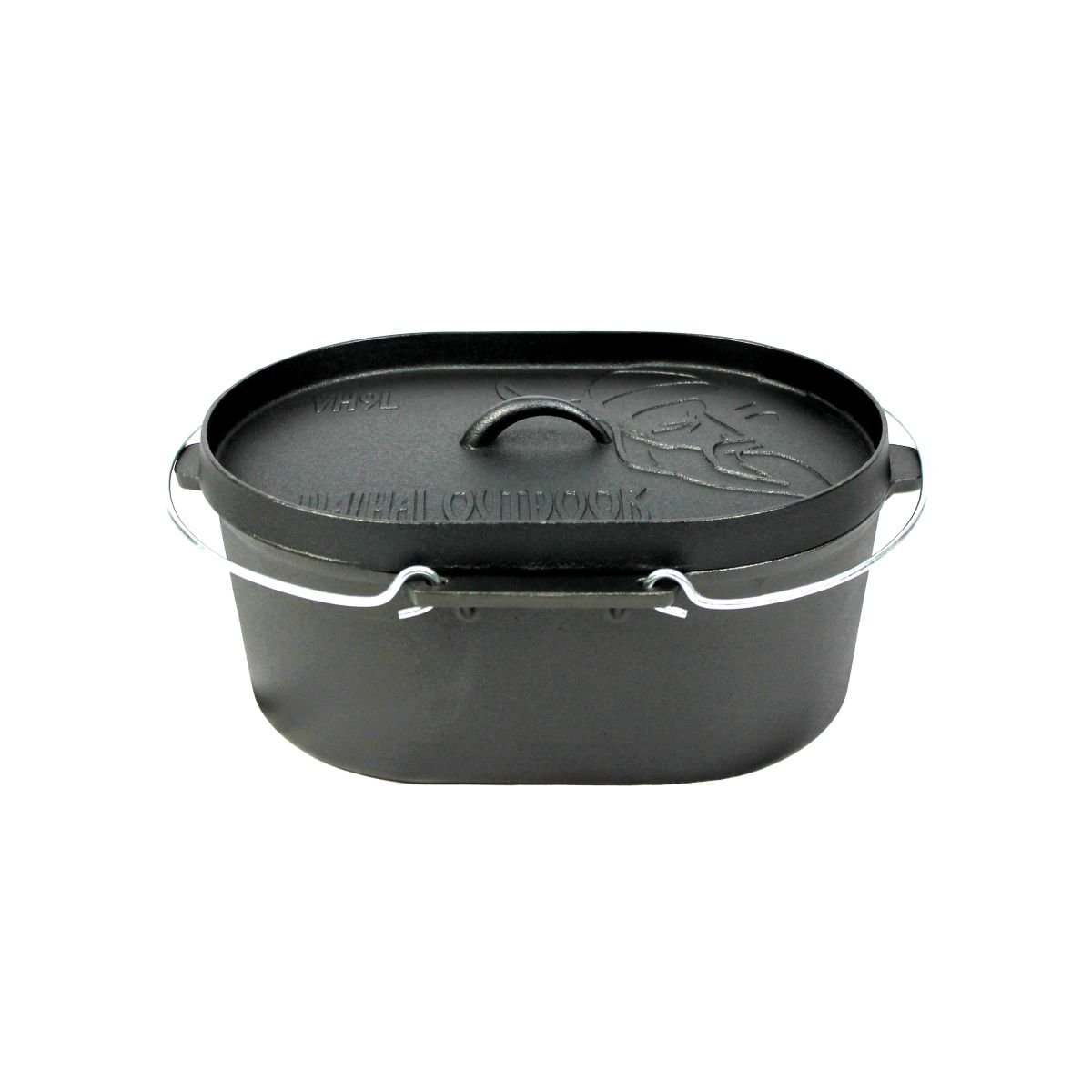 vh9l dutch oven 9l without feet